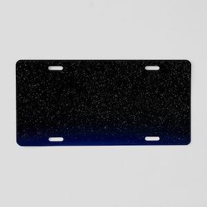 Night sky Aluminum License Plate