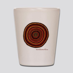 Aboriginal Mandala n3 Shot Glass