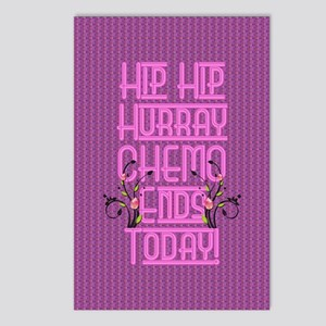 last day of chemo Postcards (Package of 8)