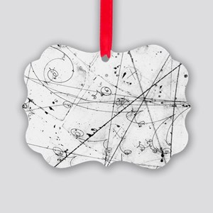 Neutrino particle interaction eve Picture Ornament