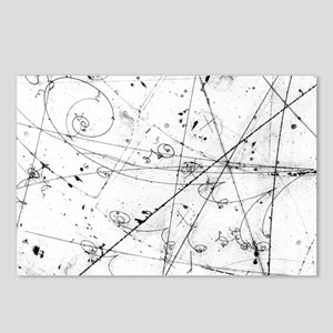 Neutrino particle interac Postcards (Package of 8)