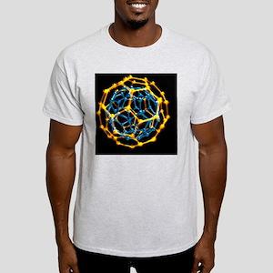 Nested fullerene molecules Light T-Shirt