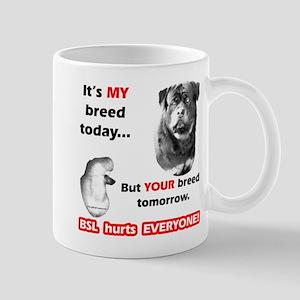 Rottie BSL2 Mug