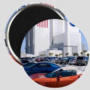 NASA vehicle assembly building Magnet