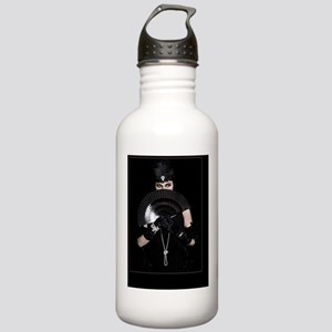 Femme Fatale, Card Stainless Water Bottle 1.0L