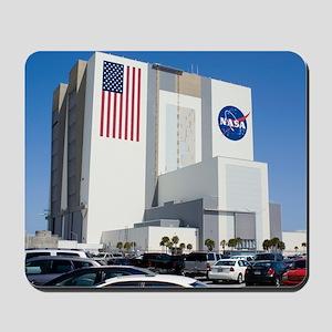NASA vehicle assembly building Mousepad