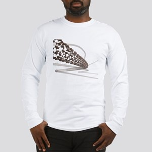 Nanotube technology, artwork Long Sleeve T-Shirt