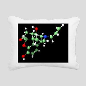 Naloxone opioid overdose Rectangular Canvas Pillow