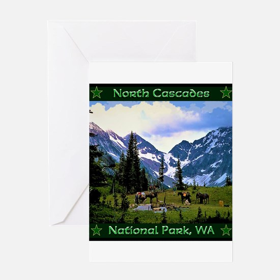 North Cascades National Park Greeting Cards