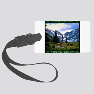North Cascades National Park Luggage Tag