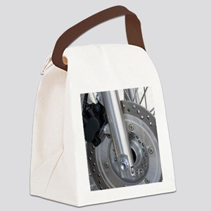 Motorcycle disc brake Canvas Lunch Bag