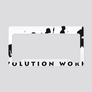 evolution power drill License Plate Holder