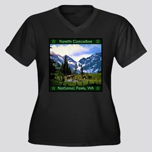 North Cascades National Park Plus Size T-Shirt