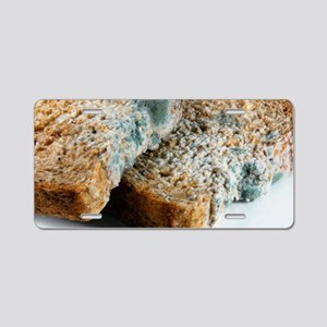Mouldy bread Aluminum License Plate