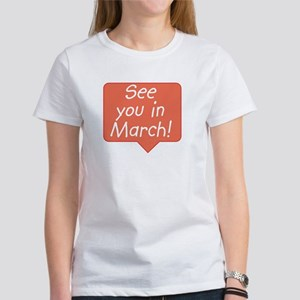 March due date Women's T-Shirt