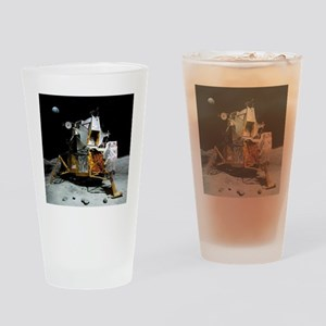 Moon landing, 21 July 1969 Drinking Glass