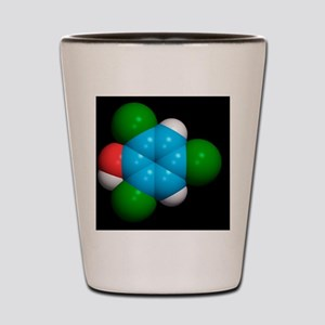 Molecule of a component of TCP antisept Shot Glass