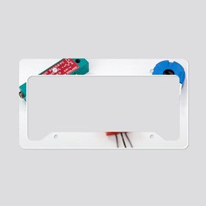 Mini pcb potentiometers License Plate Holder