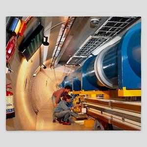 Mock-up of Large Hadron Collider at King Duvet