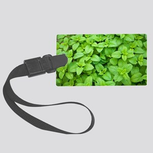 Mint (Mentha sp.) Large Luggage Tag
