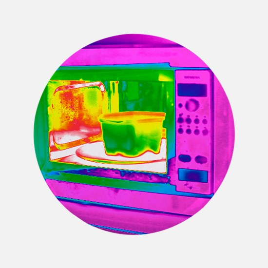 """Microwave, thermogram 3.5"""" Button"""