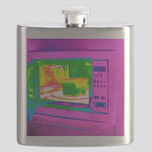 Microwave, thermogram Flask