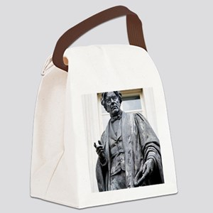 Michael Faraday, British physicis Canvas Lunch Bag
