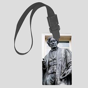 Michael Faraday, British physici Large Luggage Tag