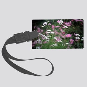 Mexican aster (Cosmos bipinnatus Large Luggage Tag