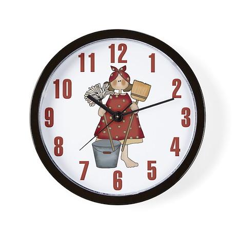 Princess in Training Wall Clock