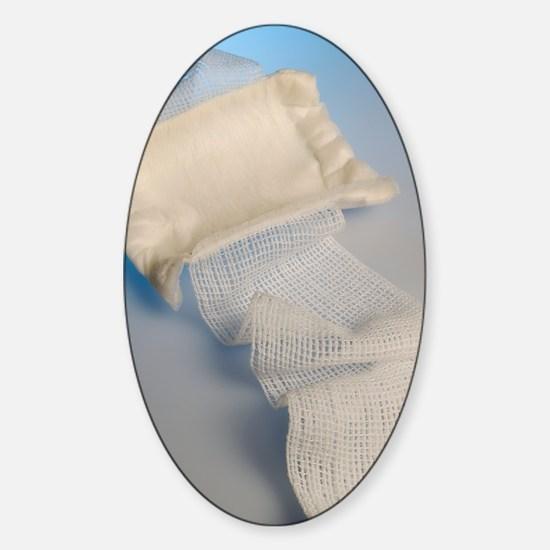Medical dressing Sticker (Oval)