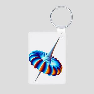 Mathematical model, artwor Aluminum Photo Keychain