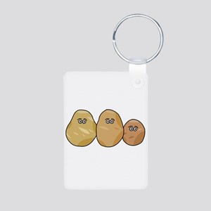 Potatoes Family Keychains