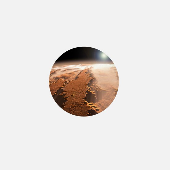 Martian surface, artwork Mini Button