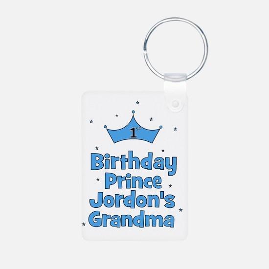 1st Birthday Prince Jordon Keychains