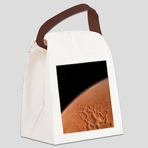 Martian surface, artwork Canvas Lunch Bag