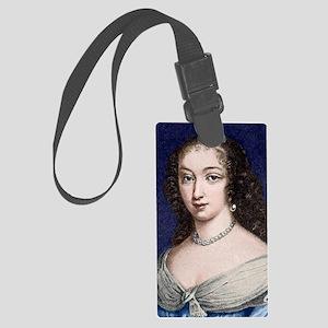 Marguerite de la Sabliere, arts  Large Luggage Tag