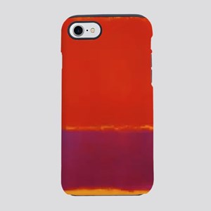ROTHKO RED PURPLE YELLOW iPhone 7 Tough Case
