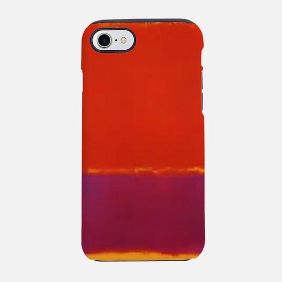 ROTHKO RED PURPLE YELLOW iPhone 7 Tough Case