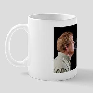 Man sneezing Mug