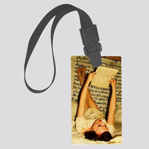 Molly Bloom Large Luggage Tag