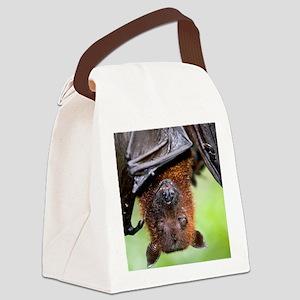 Malayan Flying Fox Canvas Lunch Bag