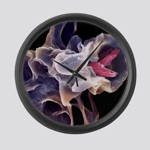 Macrophage engulfing TB bacteria, Large Wall Clock
