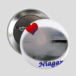 "I Love Niagara Falls 2.25"" Button"