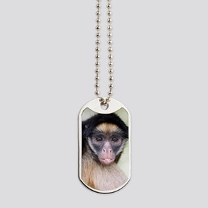 Long-haired spider monkey Dog Tags