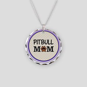 Pitbull Dog Mom Necklace