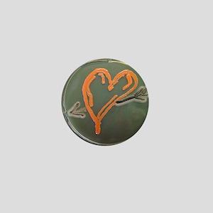 Love, microbial art Mini Button