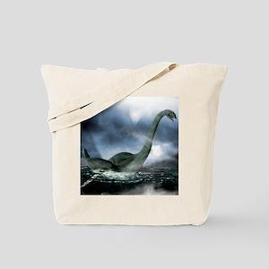 Loch Ness monster, artwork Tote Bag