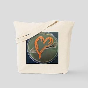 Love, microbial art Tote Bag