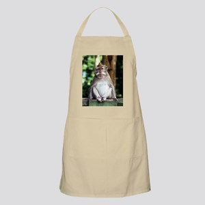 Long-tailed macaque Apron